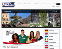 Web Design : Euro Campus