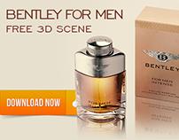 Free 3D Scene - Bentley FOR MEN INTENSE