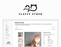 Fluffy Ether - cattery website