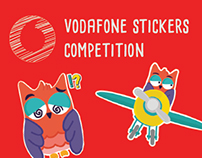 Vodafone Stickers Competition
