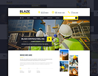 Web Design - Blaze Contracting