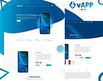 vApp- Landing Page
