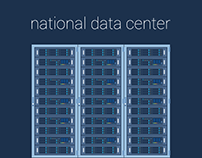 Data center illustration