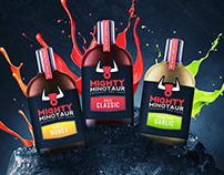 Mighty Minotaur BBQ Brand & Package Design