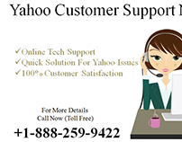 Dial Toll Free Yahoo Customer Care Number