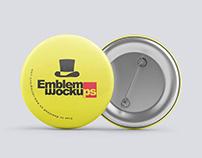 Emblem Badge Mock ups
