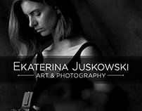 Ekaterina Juskowski. Website & Logo