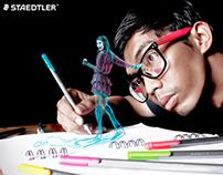 Staedtler Triplus Fineliner Promotional Image