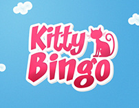 Kitty Bingo Logo Design