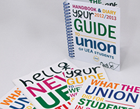 Union of UEA Students 'Welcome Week' materials