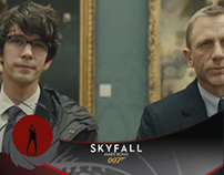 SKYFALL - Promotional Ticker