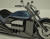 Modeling Chopper Motorcycle