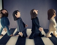 The Beatles - Abbey Road Cake