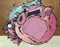 Los Tres Cerdos | Desoqp Ink
