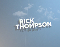 Rick Thompson Design and VFX Reel