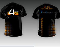 T-shirt for e-sport organization