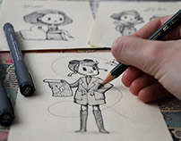 Remarkable Women - character design project
