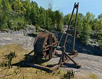 Medieval Crane-Maya