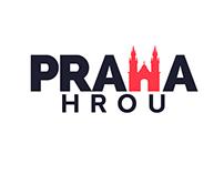 PRAHA HROU logo design