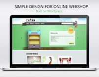 Online Webshop Wordpress theme