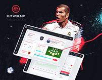 FIFA Ultimate Team WEB APP - Concept