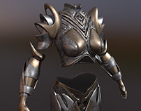 heavy armor for Warrior female character