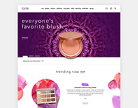 Tarte Cosmetics E-commerce