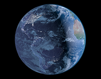 Estudo de Cinema 4D - Planet Earth
