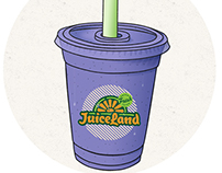Juiceland Stickers