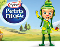 Yoplait Petits Filous yogurt for kids
