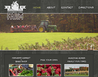 Strawberry Farm Website