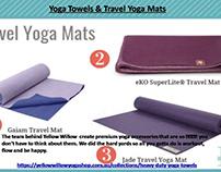 Yoga Towels & Travel Yoga Mats