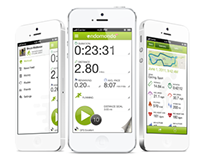 Redesign of Endomondo's iPhone app