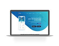 HRSS HR Website UI/X Design Concept