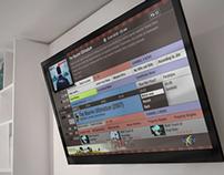 HDTV Interactive TV UI