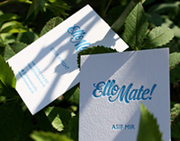 Ello Mate! Business Cards