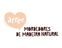 Arree - Mordedores de Madeira Natural