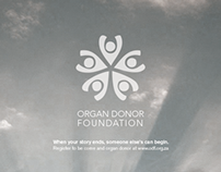 Organ Donor Foundation Print Campaign