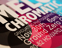 Melochromatic Exhibition - graphic/exhibition design