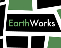 Logo design concept for Earthworks