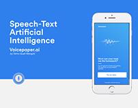 Voicepaper Artificial Intelligence app kit