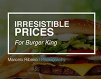 Irresistible Prices (Burger King)