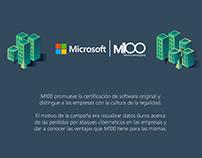 M100 / Microsoft Campaign