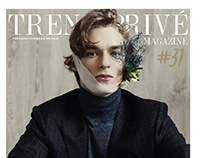 """""""Head Aches"""" cover story for TREND PRIVE magazine"""