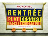 MONOPRIX // RENTRÉE