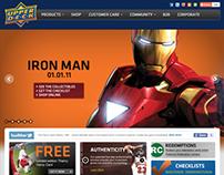 Upper Deck Website