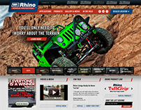 Rhino Linings Vehicle Protection Website