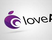 Love Apple branding