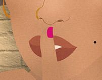Editorial Illustration: How the Middle Class Make Love