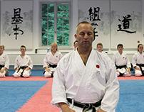 Allerød Karate Dojo visual identity